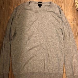 Jcrew cotton cashmere sweater